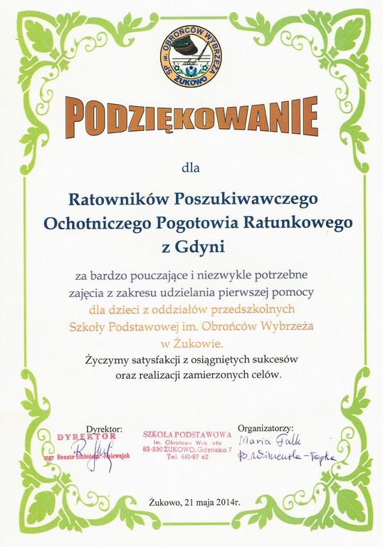 SP Zukowo 21.05.2014