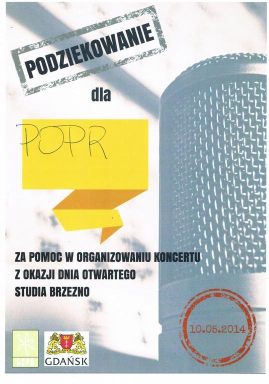 Studio Brzezno 10.05.2014